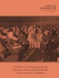 Sourcebook on Women, Peace and Security (UN Women)
