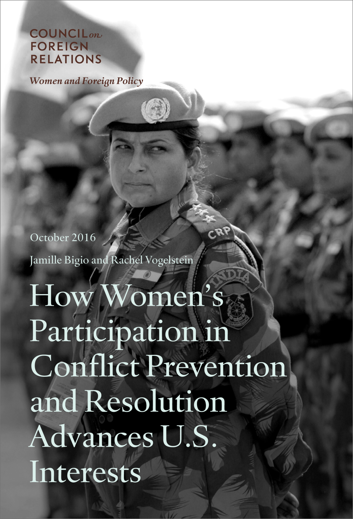 How Women's Participation in Conflict Prevention